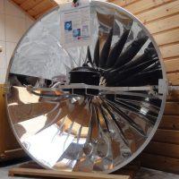 Solar Grillanlage