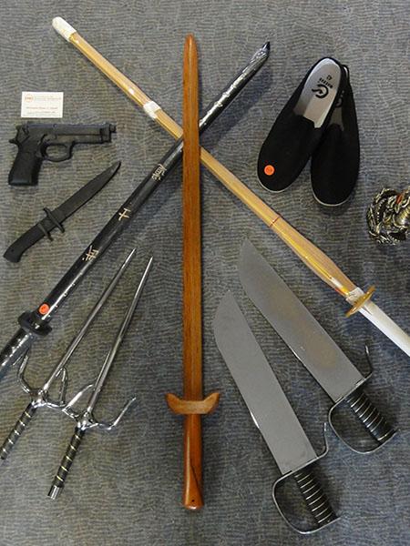 verschiedene Trainingschwerter